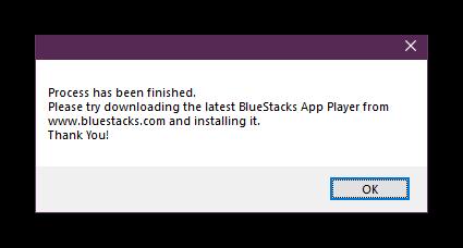 Rimozione di successo dei bluestacchi in Windows attraverso un programma di disinstallazione aziendale