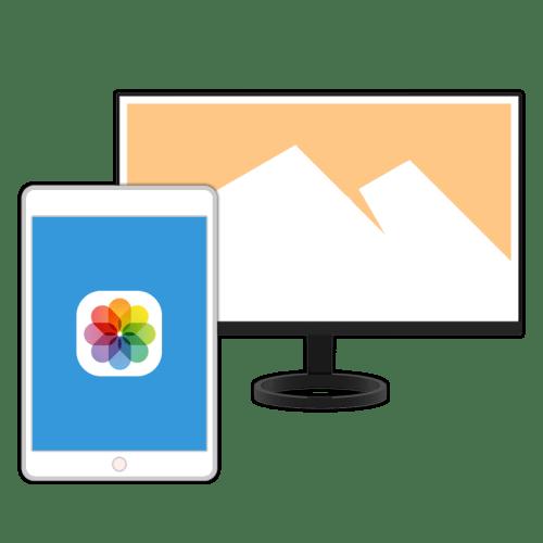 Как скинуть фото с компьютера на айПад