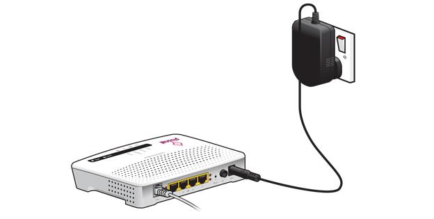 Сымсыз кіру нүктесі арқылы қосымша конфигурациялау үшін маршрутизаторды желіге қосыңыз