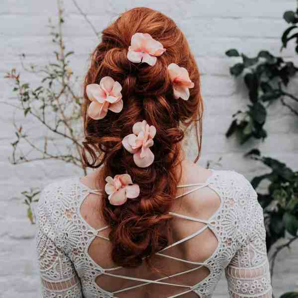 Eleanor Hydrangea Hair Pin
