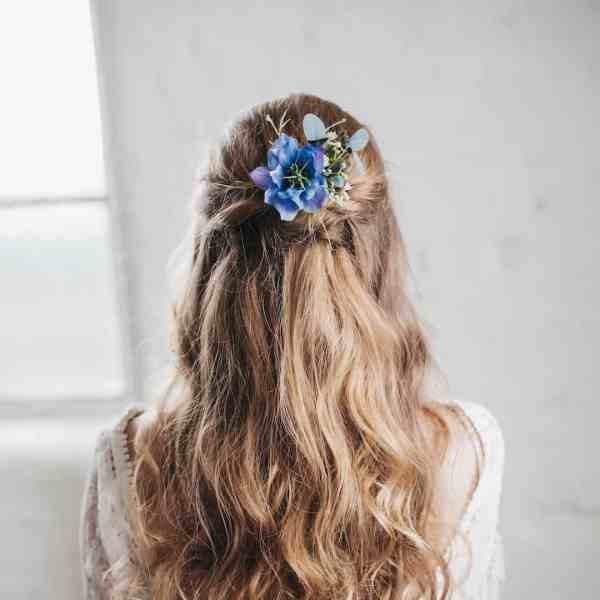 Celeste Flower Hair Pin