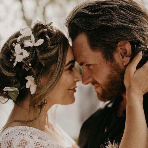 Alana Ivory Blossom Wedding Hair Vine Accessory