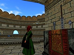 Red hair in the Colosseum