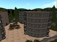Cylinder buildings