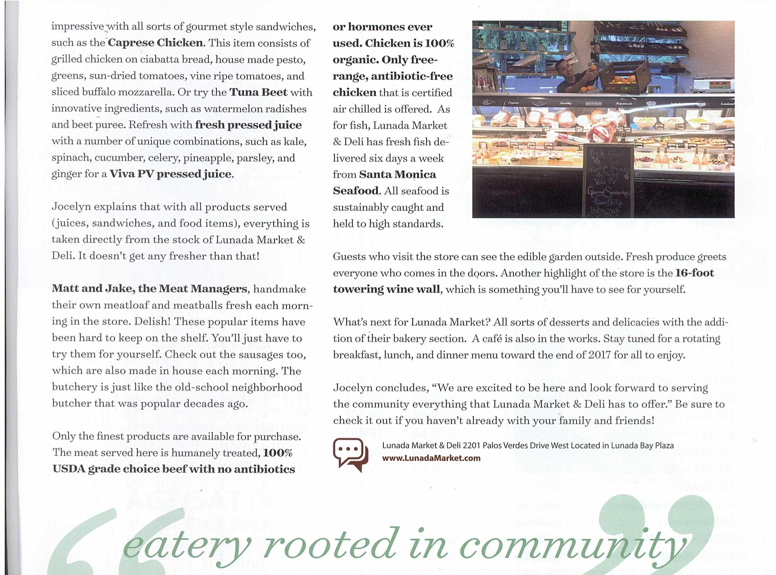 Lunada Market Lunada Bay Living Page 2