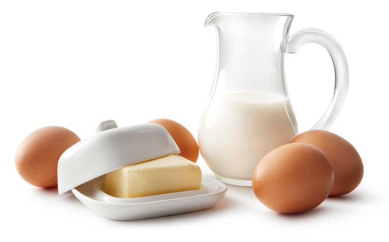Eggs and milk: are they healthy