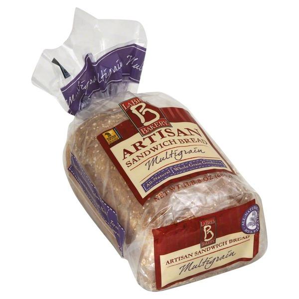 la brea sliced wheat bread