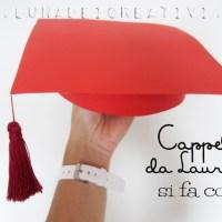 Cappello da Laureato in Cartone: Si fa Cosí!