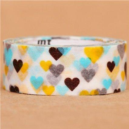 washi tape cuori