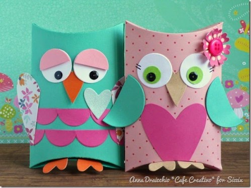 cafe creativo - big shot sizzix - owl pillow box - gufi scatolina (1)_thumb[4]