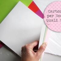 Cartoncini per Scatole con Big Shot: Quali Usare e Trucco per Far Tu la Carta!
