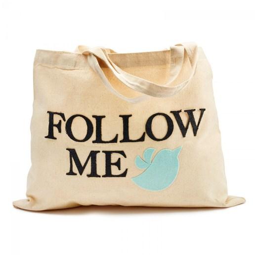 borsa in tela follow me
