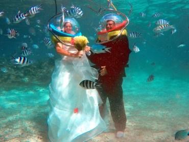 Casatorie sub apa