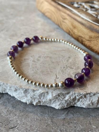 half purple