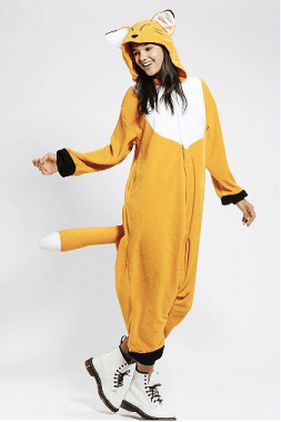 Or you can get a UO kigurumi onesie and be the most adorable, warm, and comfortable kid in the village.