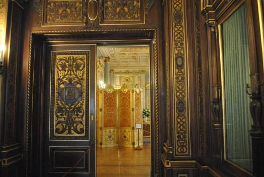 Breakers view through doorway