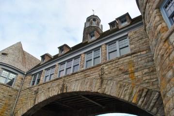 Narragansett tower closeup