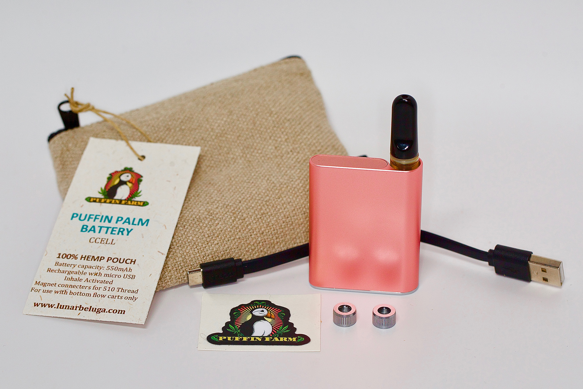 Puffin Palm Magnetic Battery