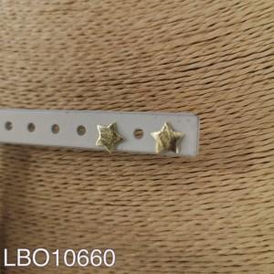 Aros bañados en oro de 8mm LBO10660