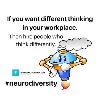 If you want different thinking in your workplace, then hire people who think differently.
