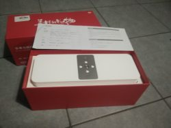 Original Xiaomi Mi Smart Network Speaker box opened