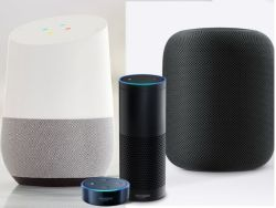 Amazon Echo Google Home Apple HomePod