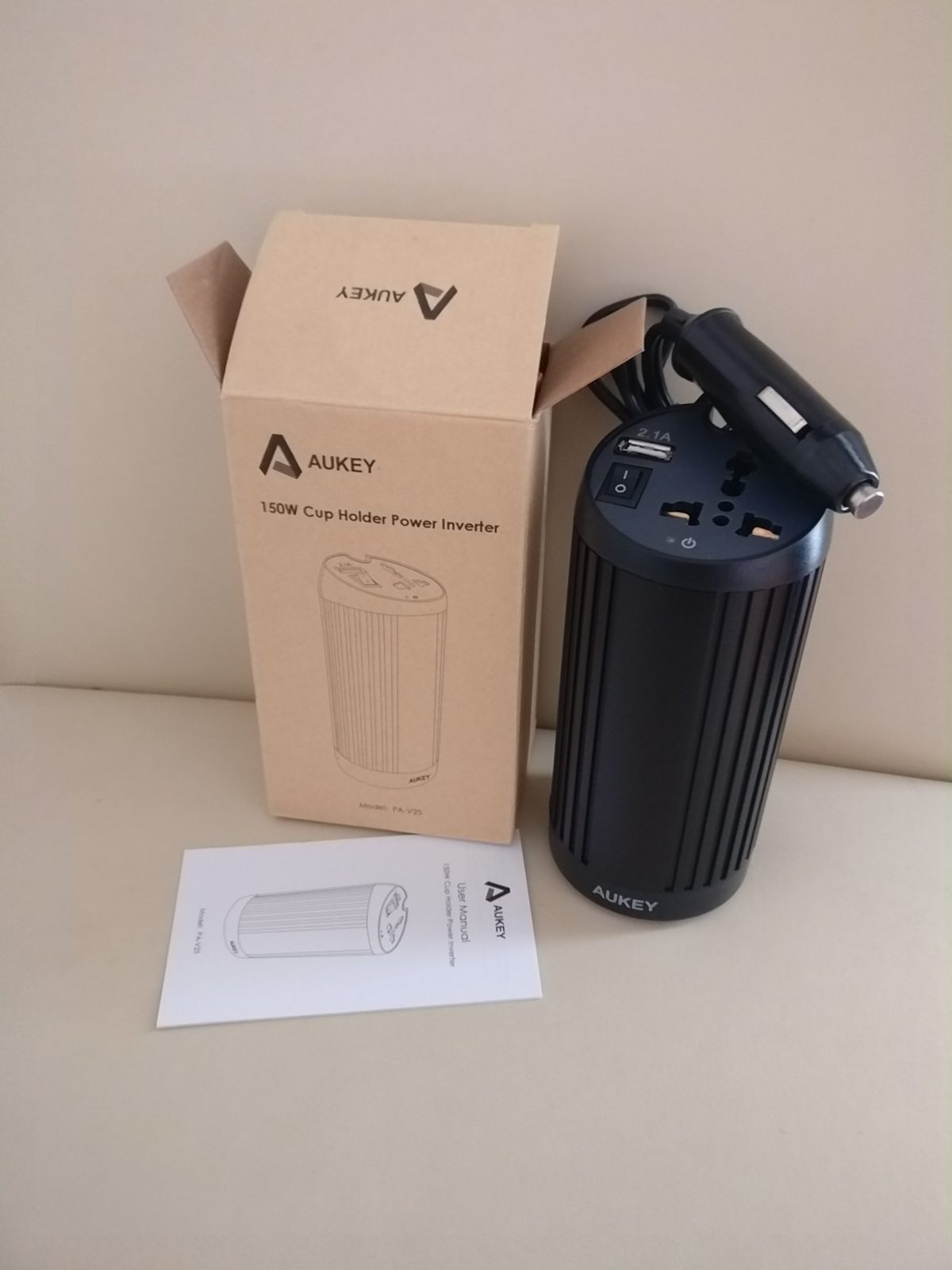 Aukey chargeur voiture