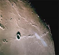 Lunar flood basalts