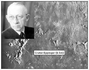 Hans Eppinger Lunar Crater Illustration