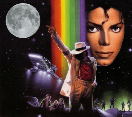 Michael Jackson Moonwalker Art