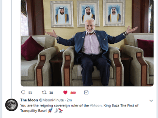King Buzz Aldrin (Image)