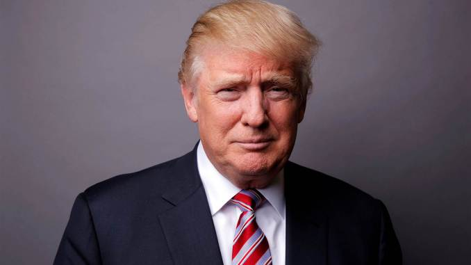 US President Donald J. Trump (Portrait Photo)