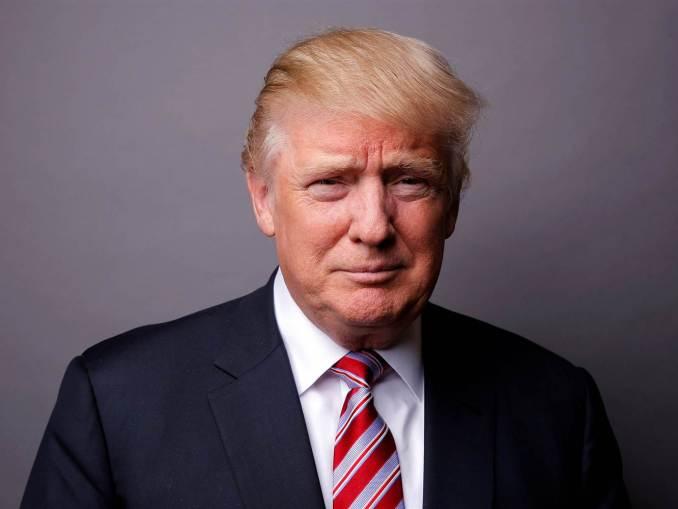 US President Donald J. Trump (Portrait Photo)