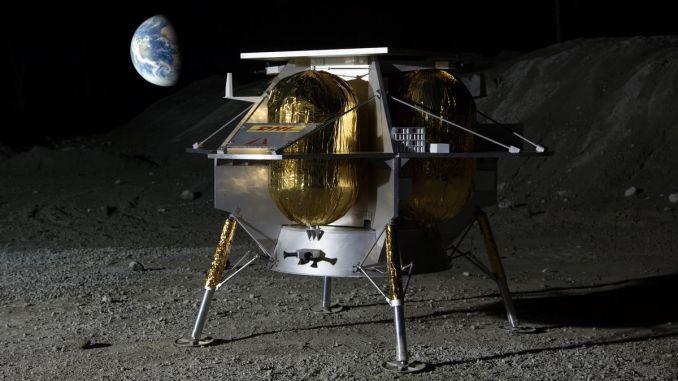 Astrobotic Peregrine Lunar Lander (Image)