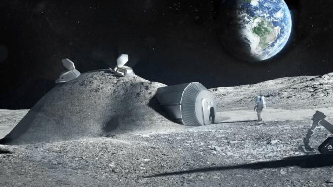 Moon Habitat (ESA Image)