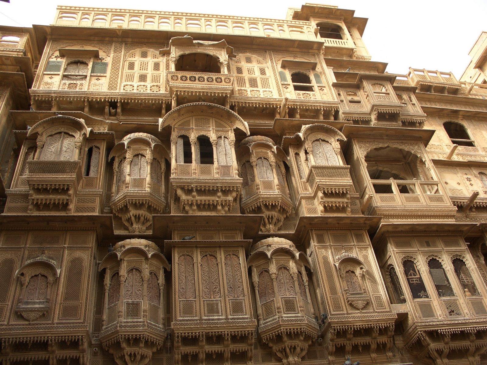Carved Facade, Jaisalmer.