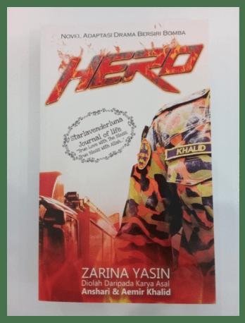 Naskah novel Filem Hero Jangan Bikin Panas