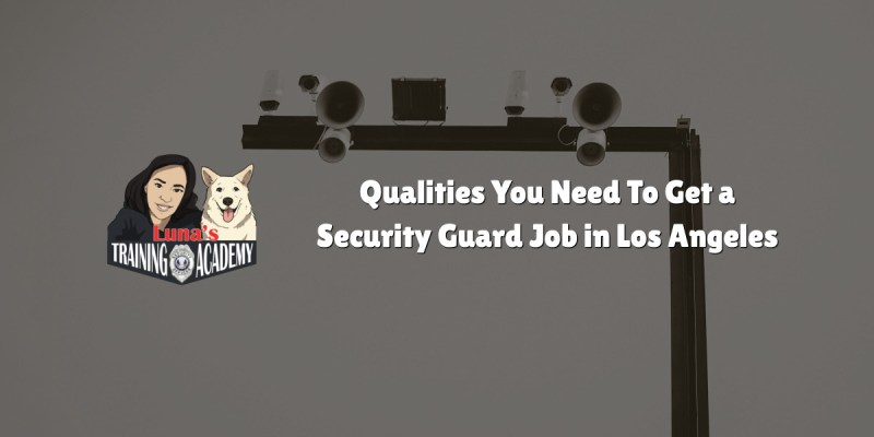 Qualities You Need To Get a Security Guard Job in Los Angeles