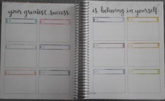 Erin Condren Life Planner Goals