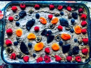 Festive Fruit Cake (Gluten-Free/Vegan)