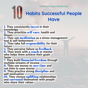 10 Habits All Successful People Have