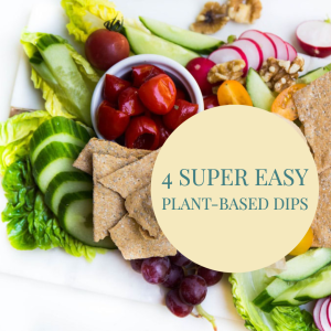 Easy Plant-Based Dips To Make At Home