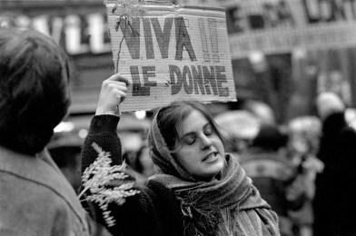 Corteo del Movimento Femminista. Paola Agosti