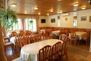 Salissa on kuusi pöytää ja istumapaikat 50 hengelle. TV, piirtoheitin ja valkokangas ovat käytettävissä.
