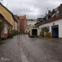 Cobblestones in the street