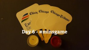 Minimalist Game - Day 6