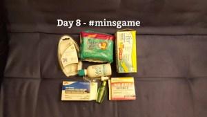 Minimalist Game - Day 8