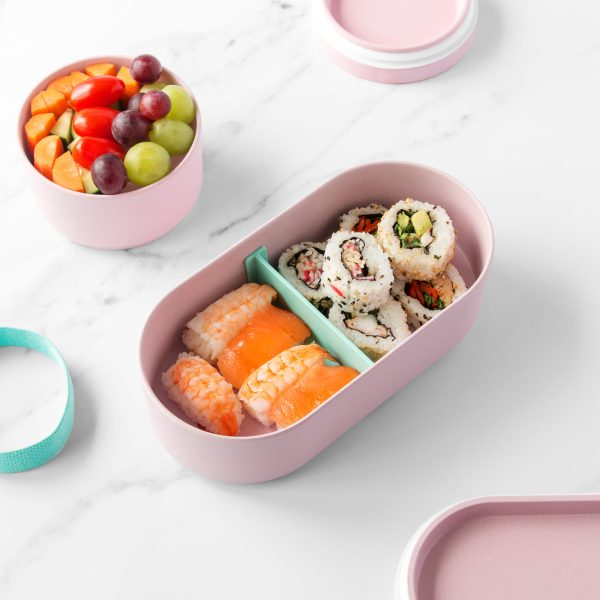 Bamboo Bento Box and Snack Box