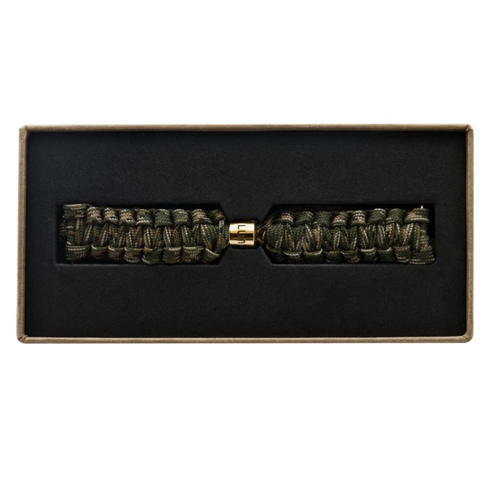 Camouflage Braided Strap with Gold Clasp - 9139