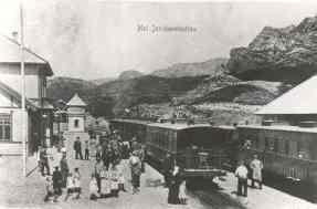 Moi stasjon ca. 1910